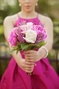 pink-wedding-bouquet-bridesmaid