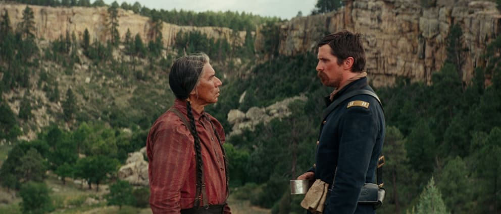 Hostiles movie.