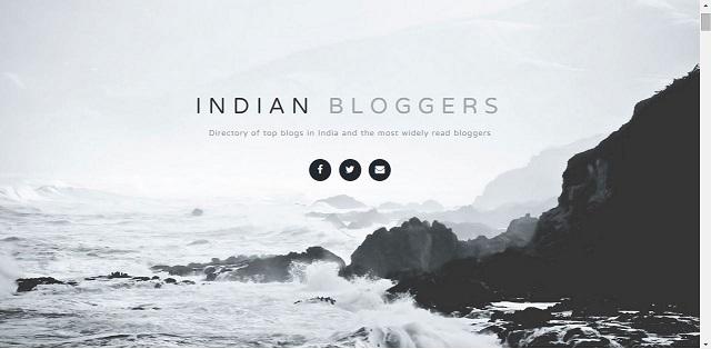 फोटो स्रोत : भारत के शीर्ष ब्लोगेर्स की सूची