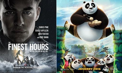 देखना न भूलिए 'Kung Fu Panda 3' और 'The Finest Hours' जोकि 29 जनवरी को रिलीज़ हो रही हैं
