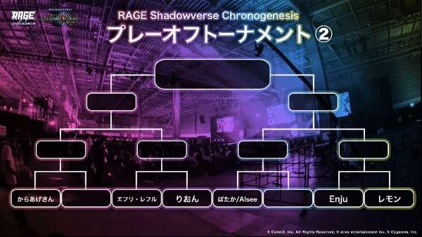 RAGE プレーオフトーナメント