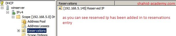 Reserved IP 192
