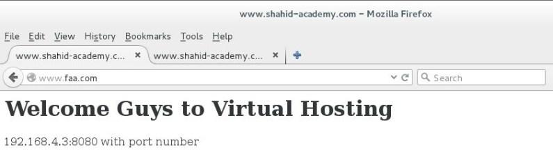virtual host 1