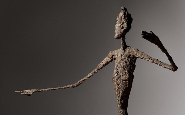 Alberto Giacometti, L'homme au doigt, (1947) - Subastas de Arte