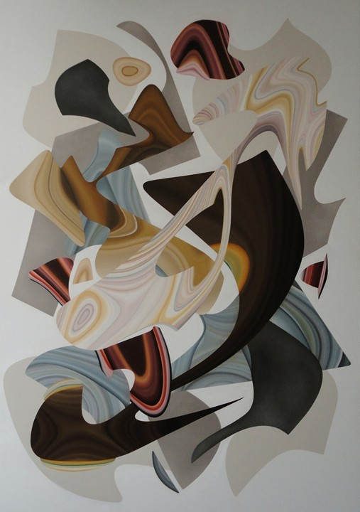 Ines Gato - abstract paintings - shairart.com