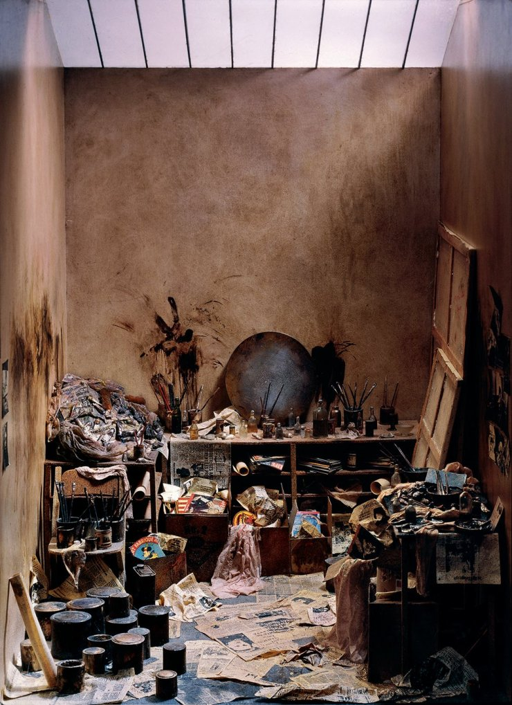 A studio that portrays the troubled soul of Francis Bacon.