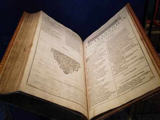 The final First Folio to return home to the Folger after the 2016 First Folio tour