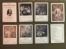 Game of Shakespeare cards