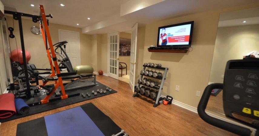 Basement Remodel - Gym