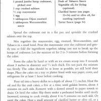Faidley's Crabcake Recipe