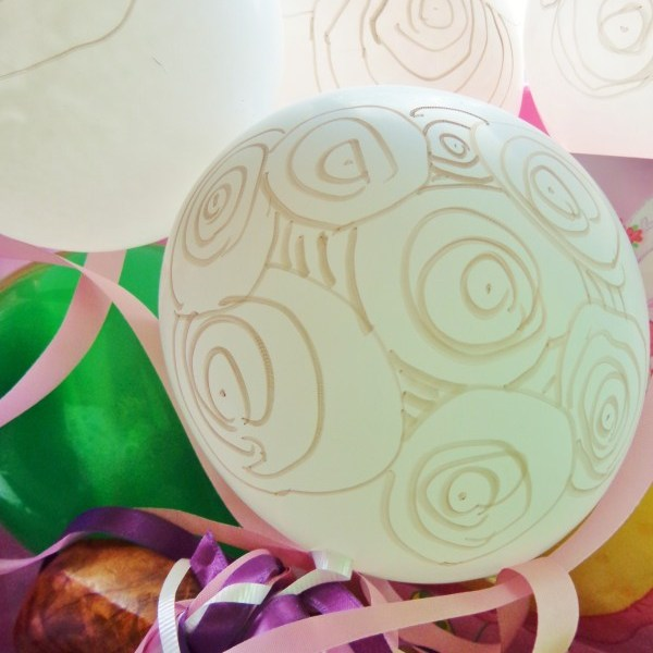Balloons Festooned With Circle Patterns