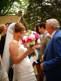 The bride from Christina's wedding on Shalavee.com