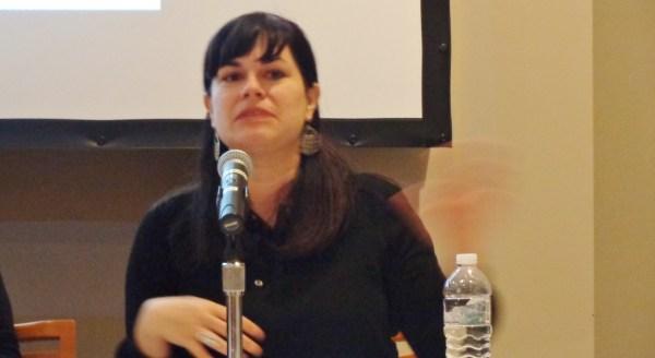 Leanne Praim at the Creativity and Avtivism talk at the Smithsonian on Shalavee.com