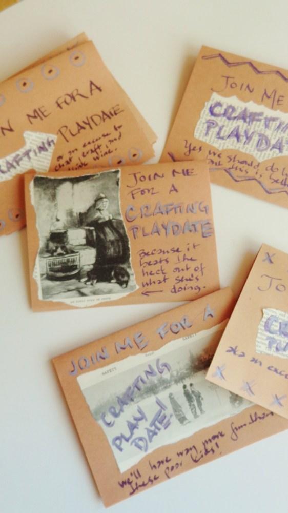 craft party invitations on Shalavee.com