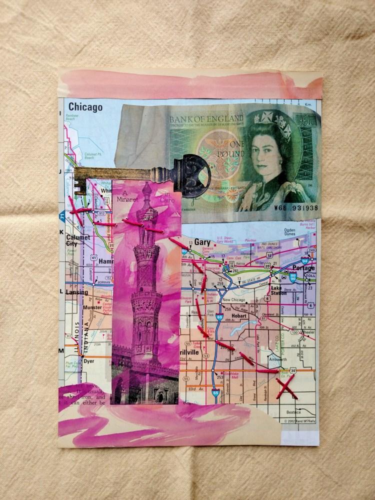 travel bug collage on Shalavee.com