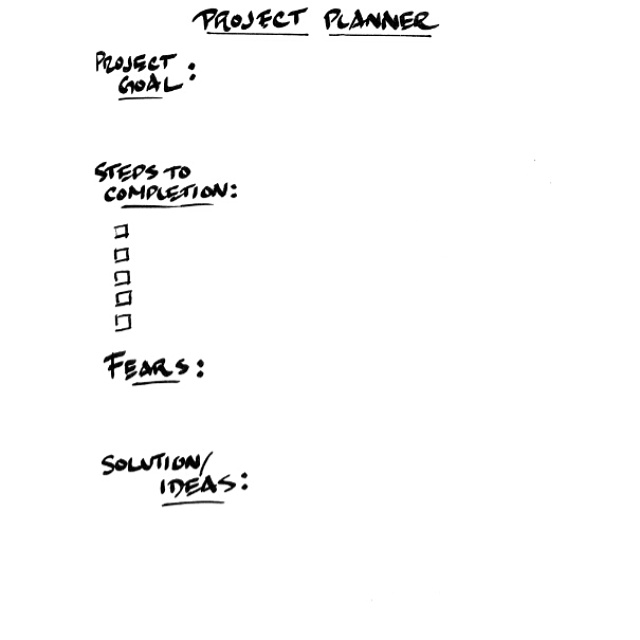 project planner on Shalavee.com