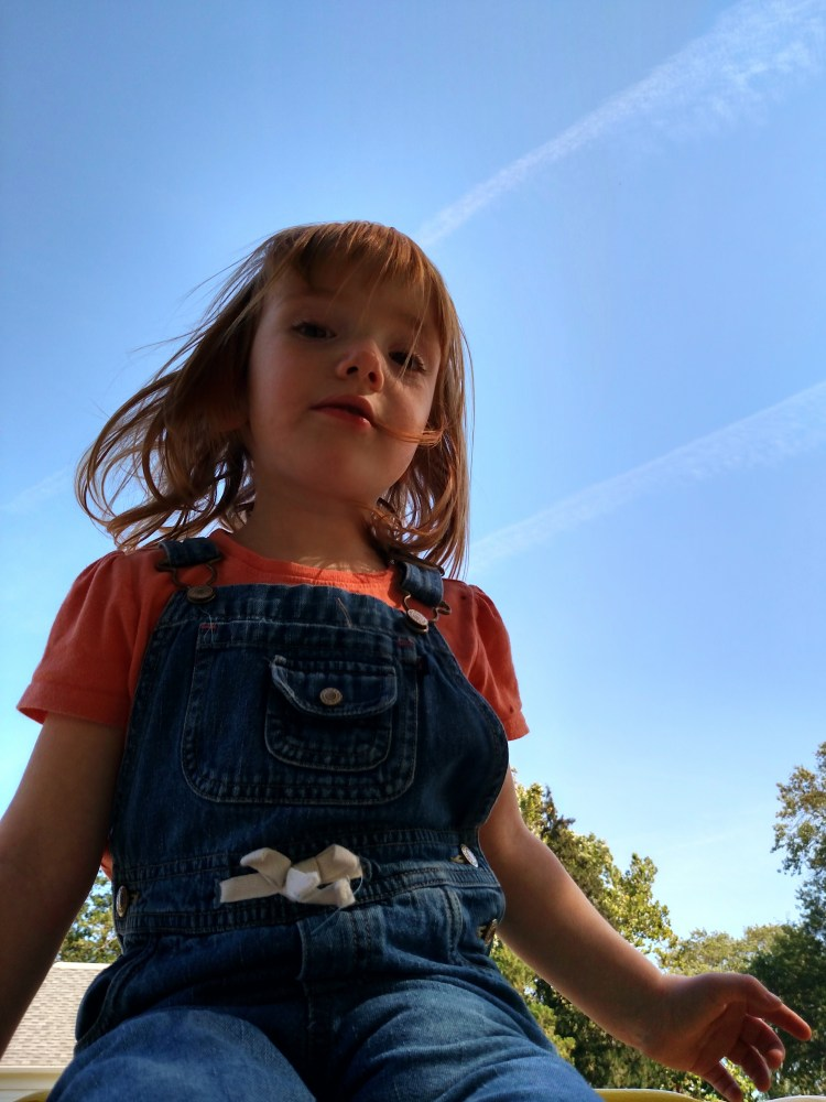 my little redhead with the sky on Shalavee.com