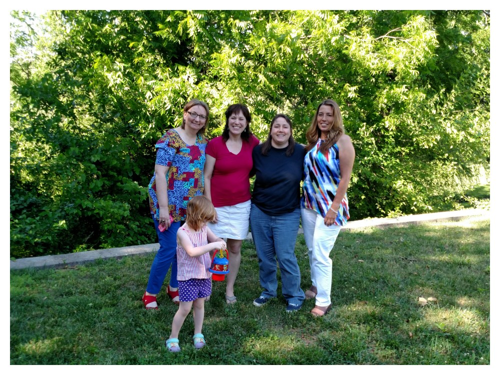 My tribe in my backyard on Shalavee.com