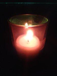 candle dark
