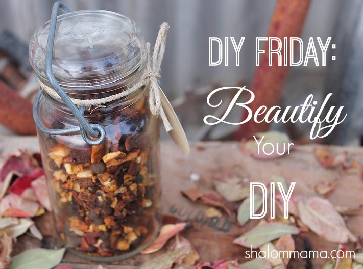 DIY Friday: Beautify Your DIY Gifts