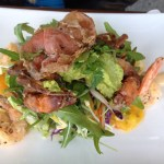 Soft Shell Crab at The Rivermark Cafe.