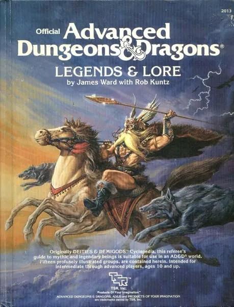 AD&D Legends & Lore 1st Edition