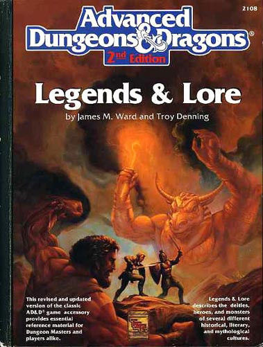 AD&D Legends & Lore 2nd Edition