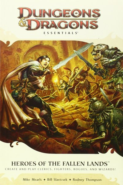 D&D Essentials Heroes of the Fallen Lands 4th Edition