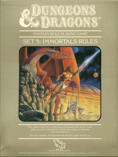 D&D Immortals Set Box