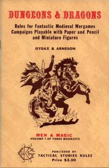 OD&D Volume 1 Men & Magic 1st-3rd Printing
