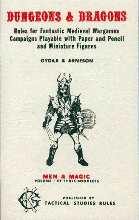 OD&D Volume 1 Men & Magic 3+-4th Printing
