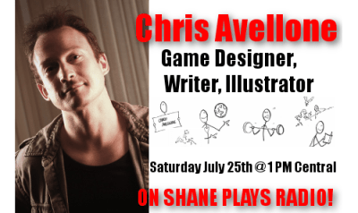 Chris Avellone Shane Plays