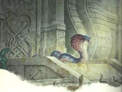 D&D Sword Coast Adventurers serpents