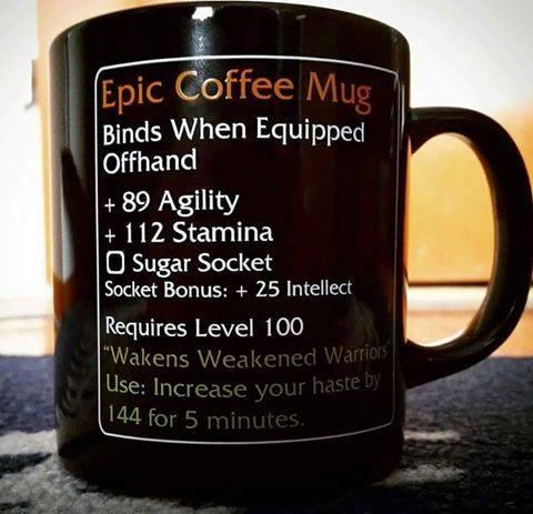 d&d meme epic mug of RPGness