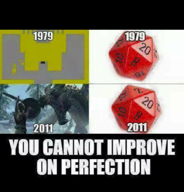 d&d meme you cannot improve on perfection