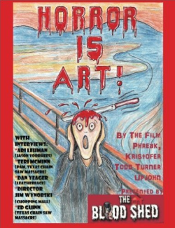 horror is art cover kristofer upjohn