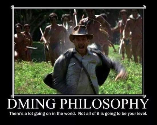 d&d meme dming philosophy