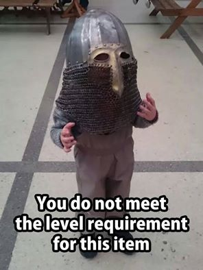 d&d meme you do not meet the level requirement for this item