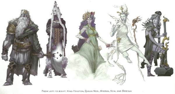 d&d storm kings thunder king hekaton queen neri mirran nym and serissa