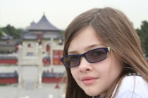 Ketti at the Temple of Heaven...