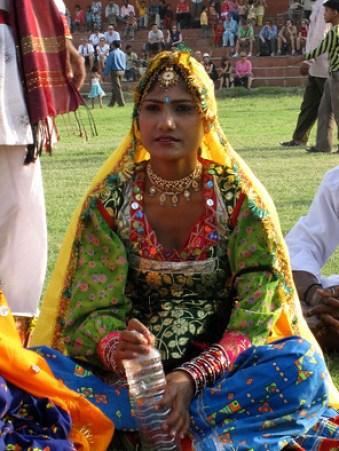 Women dancer at Jaipur Elephant Festival