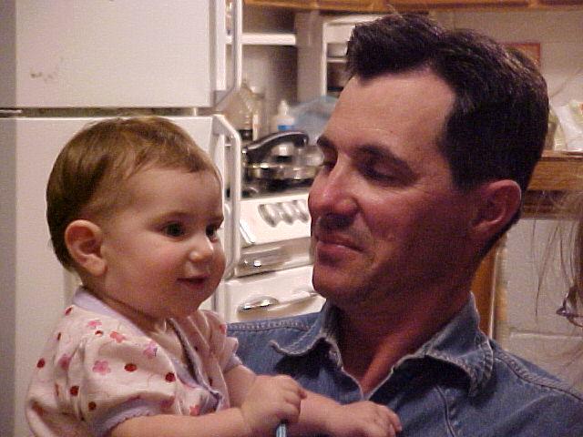 carolina and dad