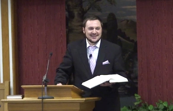 Laredo Enters Preaching School