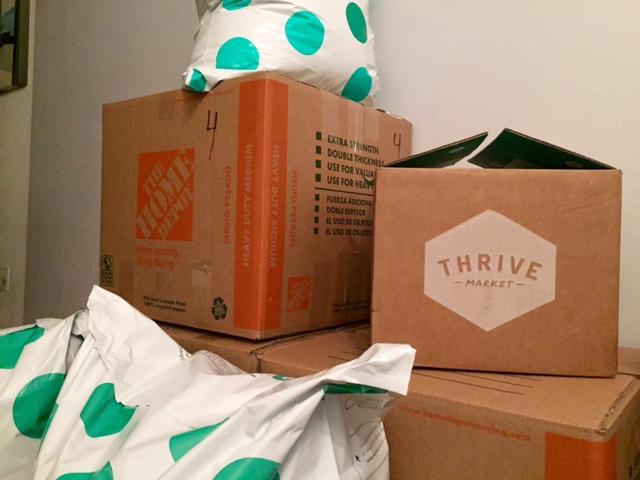 Thrive Shipping Box