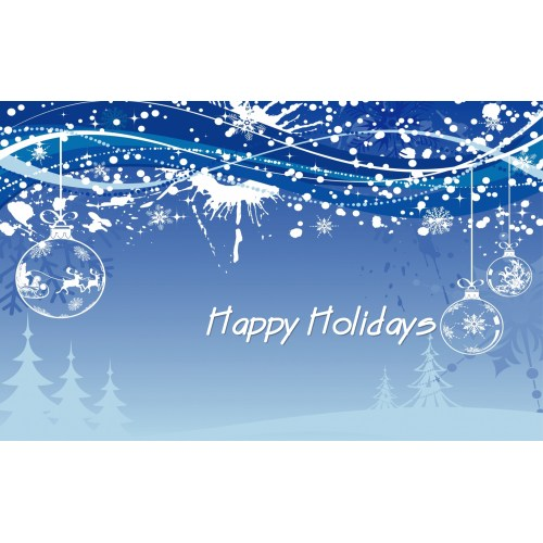 Medium Crop Of Happy Holidays Message