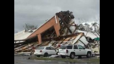 Deadly Hurricane Michael moves inland