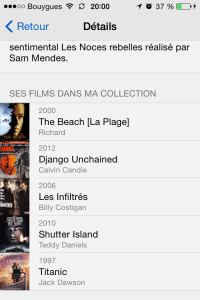 Liste film My Movies
