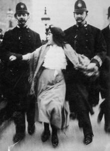Dora Thewlis, 16-year-old suffragette.