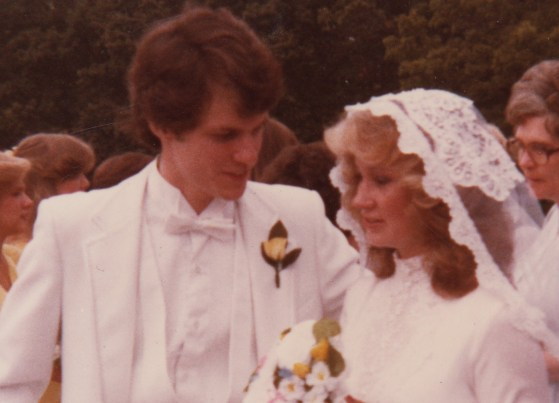 Dale and Sharon Glasgow married August 29, 1981