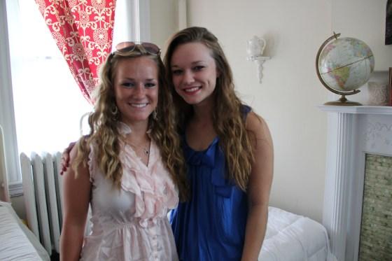 Ellie and Rachel